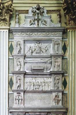 Paolo Romano Tomb of Pius II 1465-70 Marble Sant'Andrea della Valle, Rome