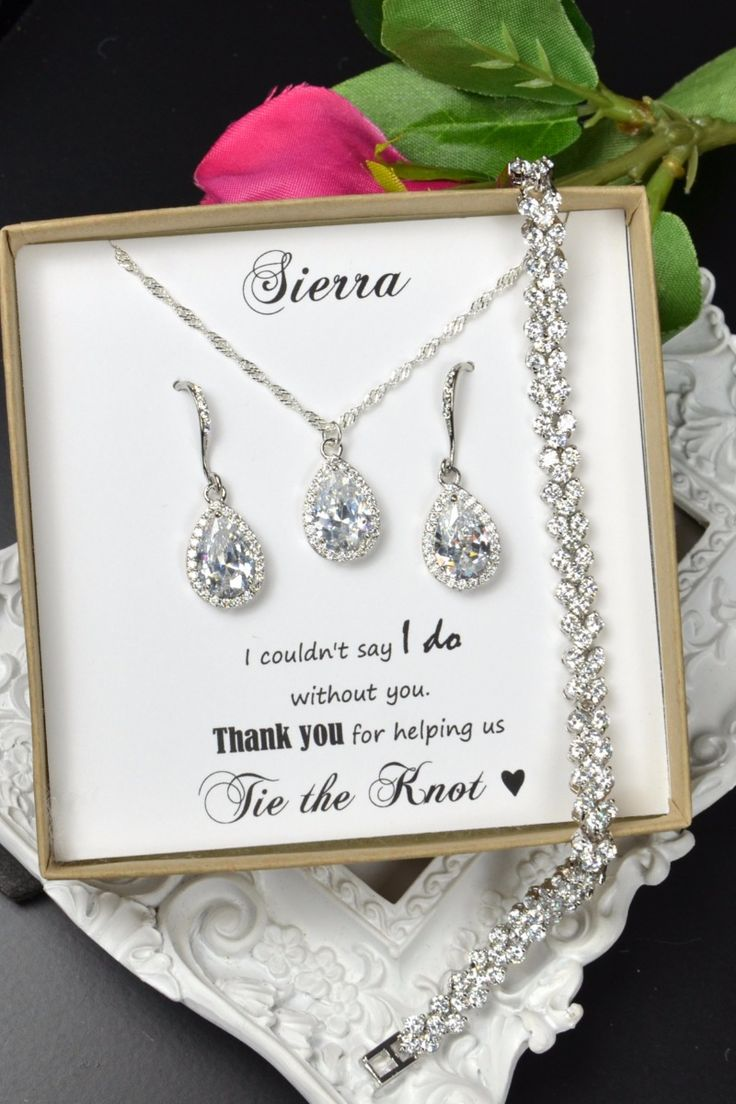 Thefabulousjewelry bridesmaid jewelry wedding jewelry for Bridesmaid jewelry sets under 20