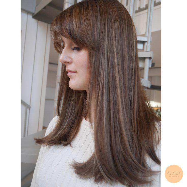 Hårfärg kall brun