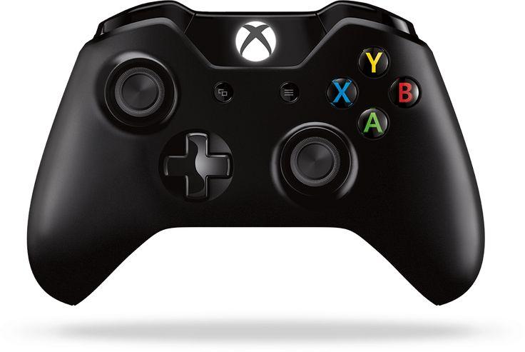 Xbox kontroller és multifunkciós eszköz egy Xbox konzollal együtt a képernyőn