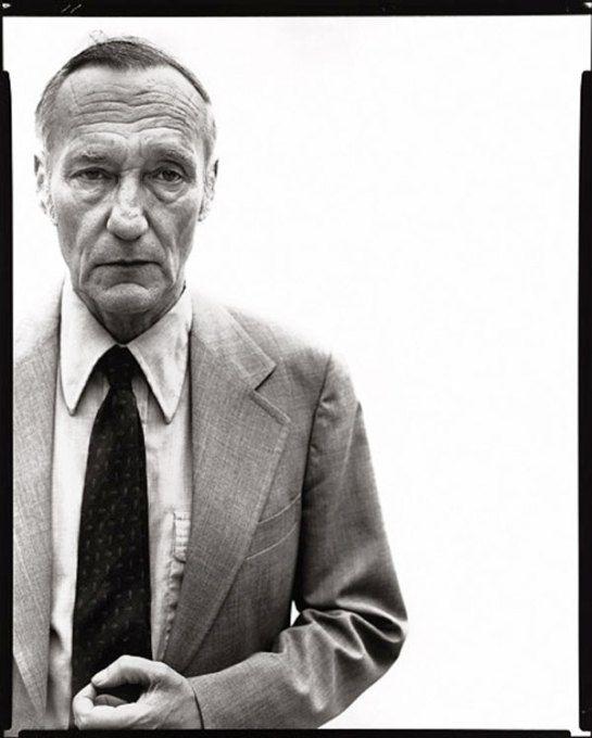 William S. Borroughs by Richard Avedon 1975