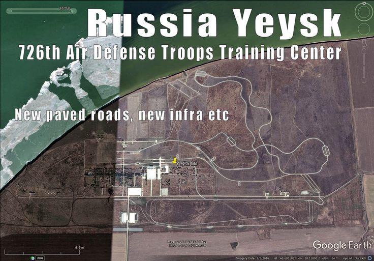 Russia Yeysk, fully upgraded 2016. 60km to Ukraine.
