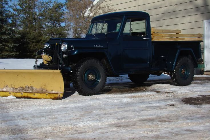 Plow For Jeep Wrangler >> Old plow trucks - Page 3 - PlowSite.com™ - Snow Plowing ...