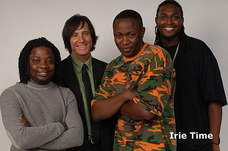 It's the band IRIE TIME .. http://www.IRIETIME.com .. Irie!