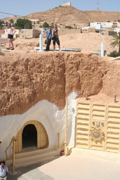 Perfect Hotel Sidi Driss Matmata Tunisia Underground hotel where Star Wars was filmed
