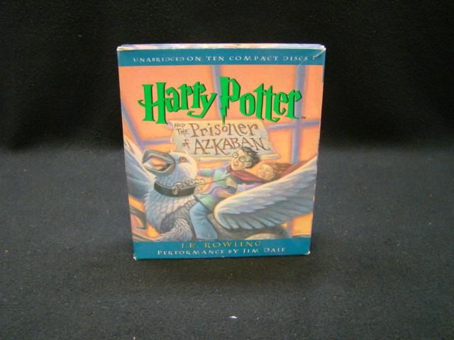 Harry Potter and the Prisoner of Azkaban Book 3 Audio Book