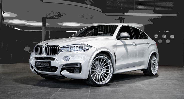 F16 BMW X6 M50d Receives Hamann Treatment