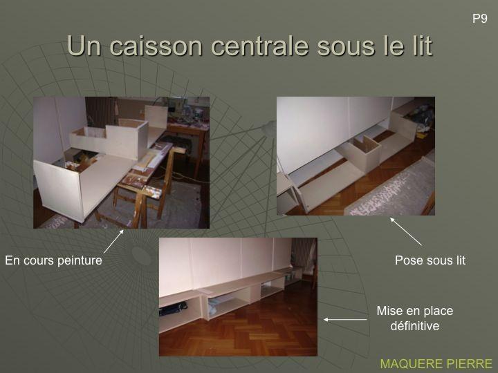 Bricolage Lit Escamotable Lit Escamotable Lit Lit Mural