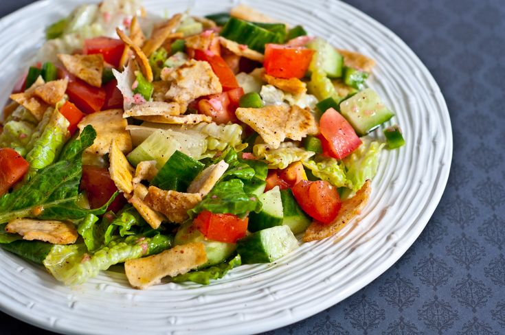 I've Lost that Love and Feeling, and Lebanese Fattoush Salad
