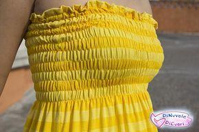 Il vestito arricciato e il suo tutorial! - DiNuvoleDiCuori