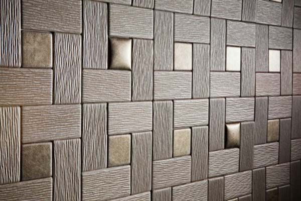 Awesome Padded Wall Panel Design As A Wall Decor Ideas : Amazing Trend Dark…