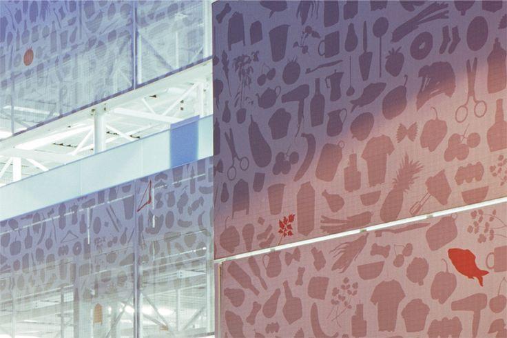 graphic texture whitechapel carpark
