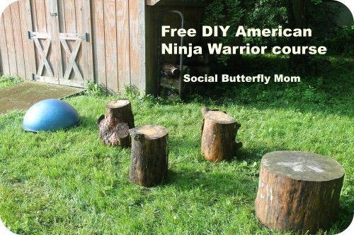 Backyard Ninja Warrior Design : Ninja Warrior Course on Pinterest  Ninja Warrior, American Ninja
