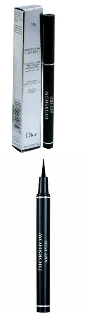 Eyeliner: New Christian Dior Diorshow Art Pen Eyeliner - # 095 Catwalk Black 0.037Oz -> BUY IT NOW ONLY: $32 on eBay!