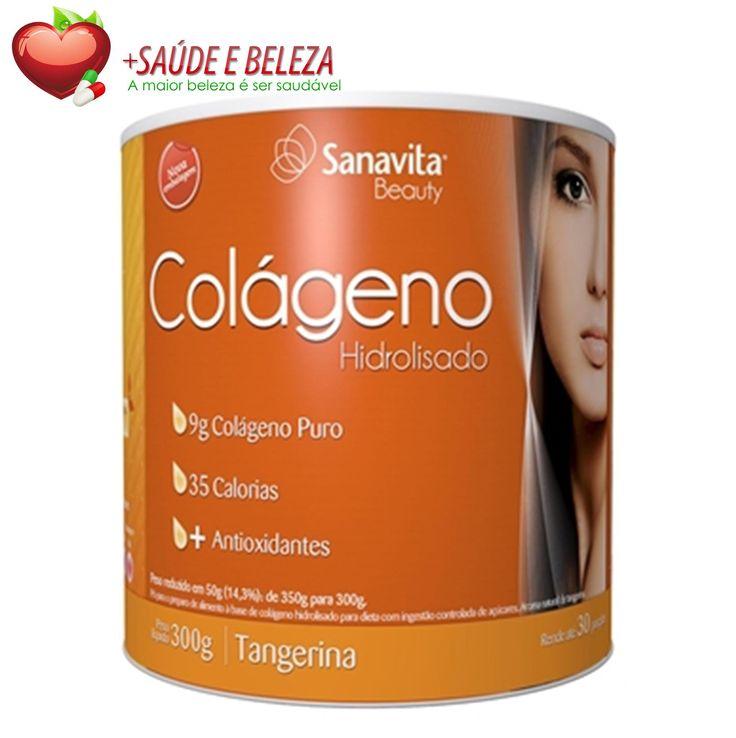 Aproveite nossa #SuperPromoção de Colágeno da Sanavita, a marca mais reconhecida de colágeno do Brasil por um preço imperdível! Apenas R$ 62,00  Cuide da sua Saúde com Produtos de Qualidade... Temos mais ofertas para você ficar em dia com sua Saúde. Confira! http://www.maissaudeebeleza.com.br/d/8/colageno?utm_source=pinterest&utm_medium=link&utm_campaign=Colágeno+Sanavita&utm_content=post
