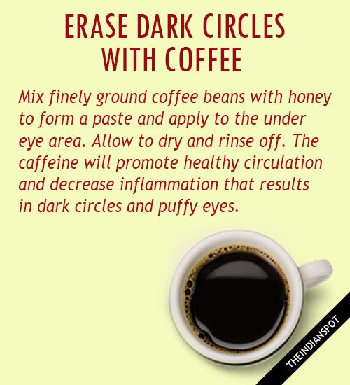 TOP 10 NATURAL CURES FOR DARK CIRCLES - THEINDIANSPOT