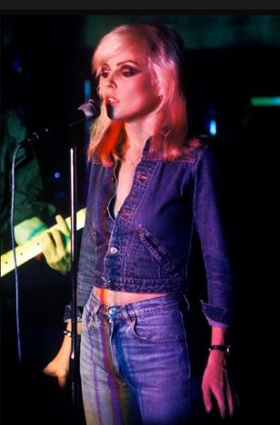 blame it on the boogie: Style inspiration: Debbie Harry