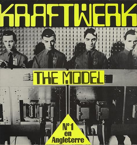 "Kraftwerk, The Model, French, Promo, Deleted, 12"" vinyl single (12 inch record / Maxi-single), Emi, SP1169, 94241"