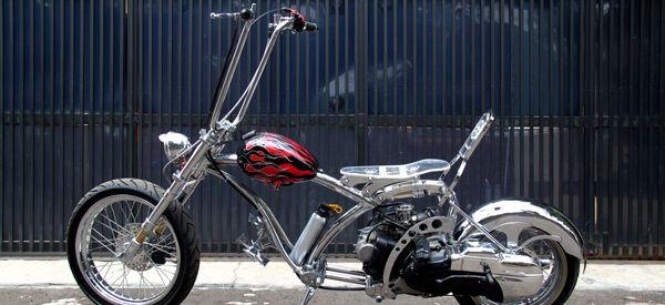 Chopper Matic Custom Bike Bali Mobil Moci