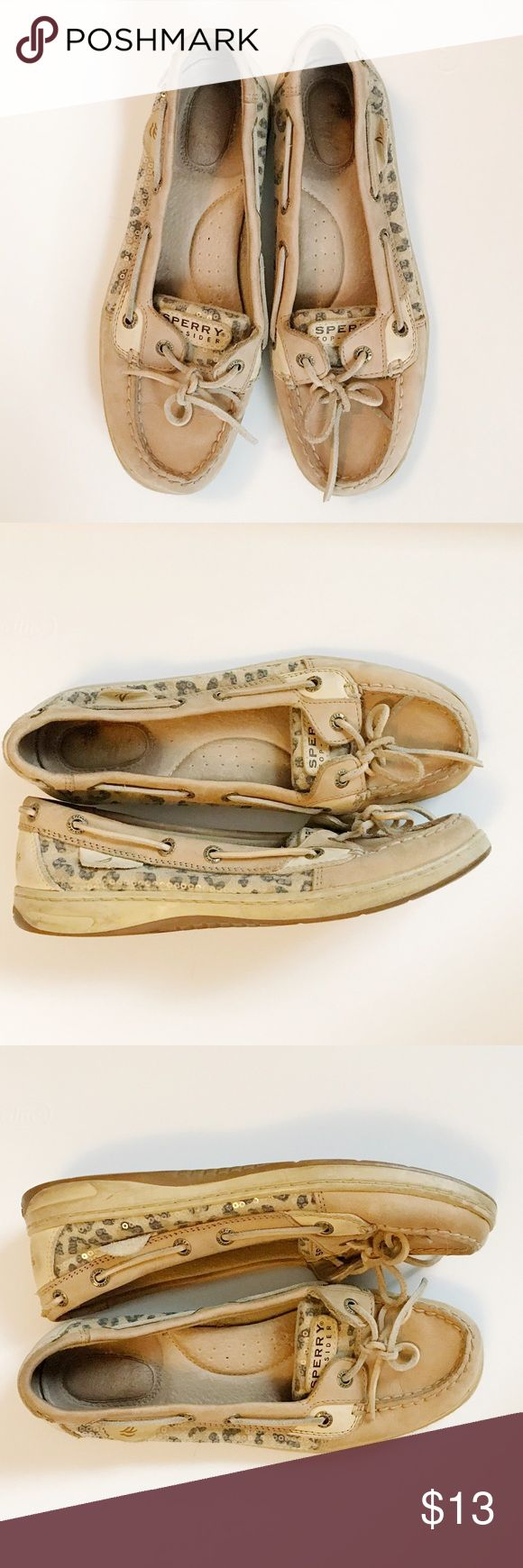 Leopard Sperry Boat Shoes Leopard Sperry Boat Shoes Sperry Top-Sider Shoes Flats & Loafers