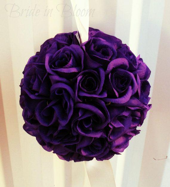 79 best kissing balls images on pinterest diy christmas purple pomander kissing ball flower girl by brideinbloomweddings 2200 mightylinksfo Choice Image