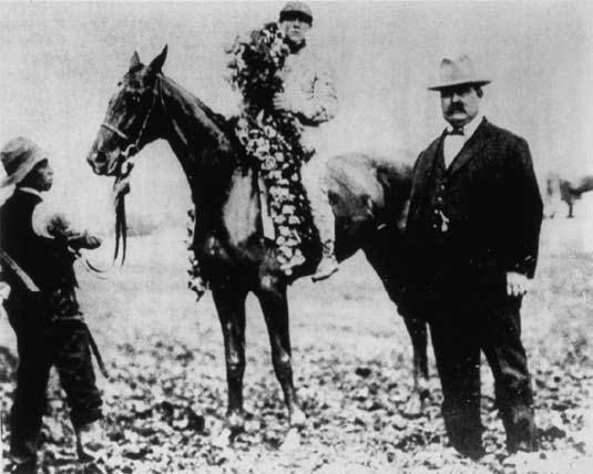 The 1908 Kentucky Derby was run on a very muddy track, which made for the slowest winning time in history (2:15:20). However, it also made for some big payouts as the winner, Stone Street, took home the Roses at 24-1 odds.
