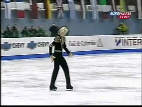 ▶ Evgeni Plushenko 2001 EC LP - YouTube