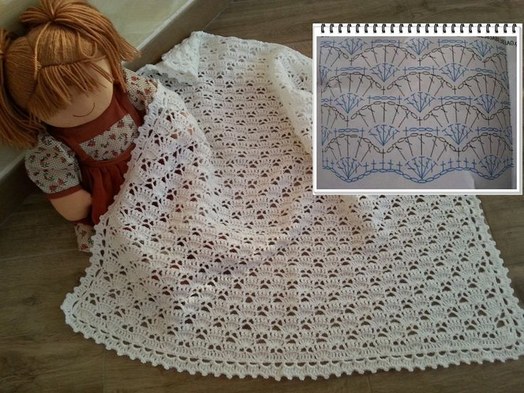 Préférence 198 best Copertine baby images on Pinterest | Baby blankets  BX96