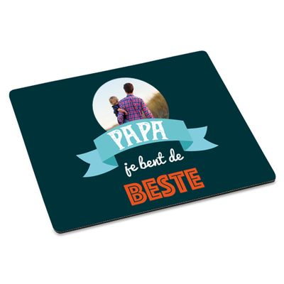 Vaderdag muismat. Te bestellen op: www.PrachtigKado.nl/vaderdag-cadeau