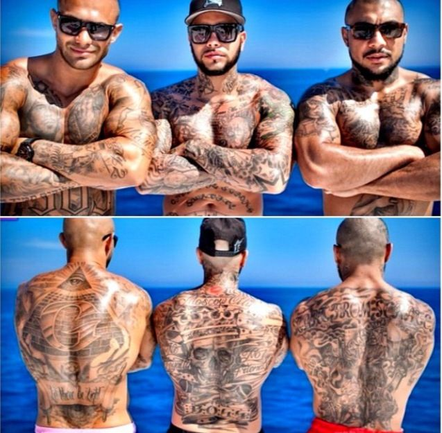 #Blackstar#Timati#tattoo