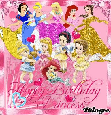 Happy Birthday Princess Picture #125081484 | Blingee.com