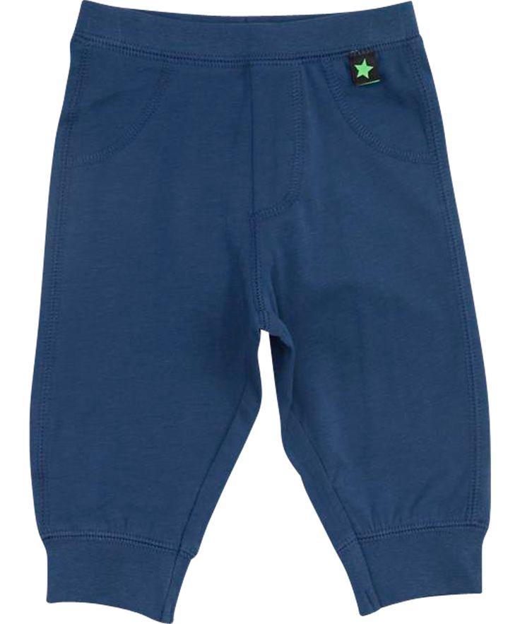 Molo mooi metaalblauwe baby broek. molo.nl.emilea.be