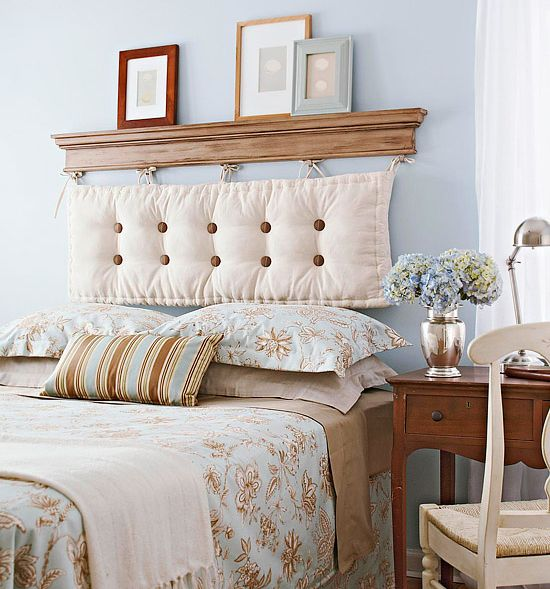 12 DIY headboard ideas that are stylish and homemade