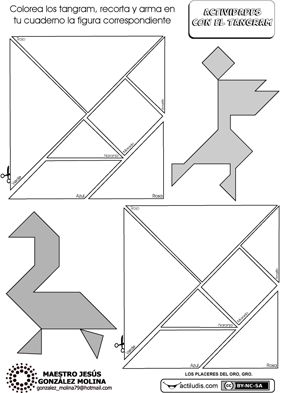 Geometría con tangram