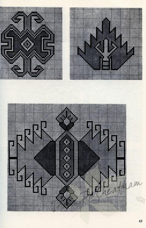 Gallery.ru / Фото #45 - Persian Rug Motifs for Needlepoint - Dora2012
