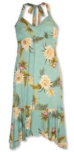 Hawaiian Dresses and Beach Wedding Dresses