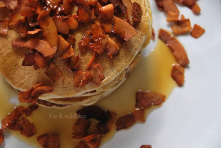 'Bacon' and Maple Syrup Pancakes [Vegan]   One Green Planet