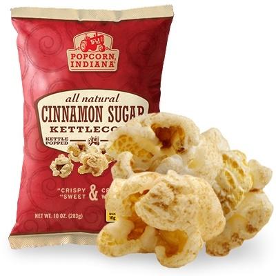 My Favorite snack!! Cinnamon Sugar Kettlecorn | Whole Grain, Gluten Free Popcorn and Chips | Popcorn, IndianaCinnamon Kettle, Cinnamon Sugar, Favorite Things, Sugar Kettlecorn, Popcorn Indiana, Whole Food, Popcorn Snacks, Gluten Free, Kettle Corn