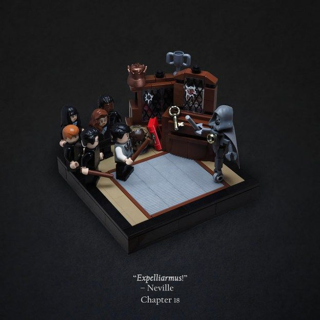 The Room of Requirement LEGO Harry Potter and the Order of the Phoenix