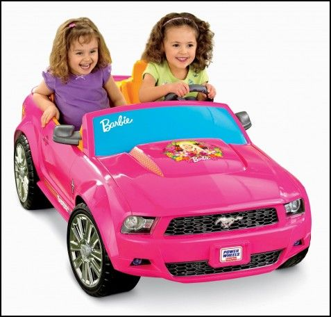 Fisher-price Power Wheels Barbie Mustang Ride-on