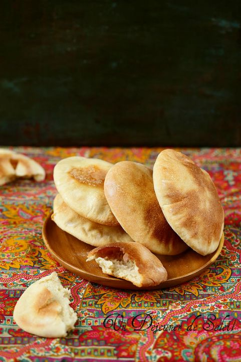 Pain pita maison facile - Pita bread, how to make it ©Edda Onorato