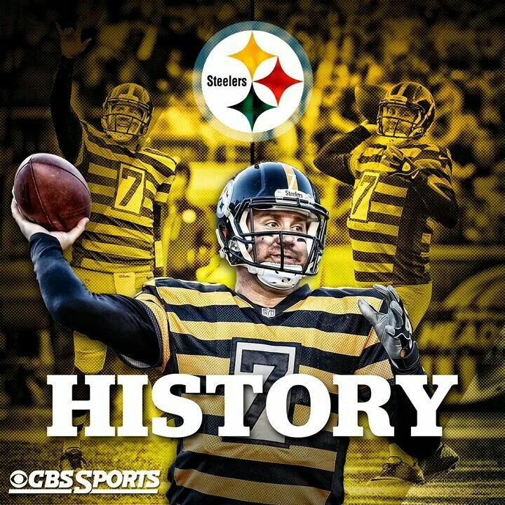 10/26/2014... 6 Touchdown Passes..544 Yards Passing.....First player ever to have 2  500 yd. Passing games. Way to go Big Ben!!!