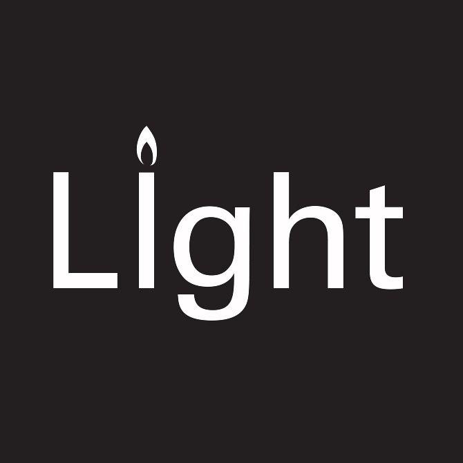 #light #logo #verbicon