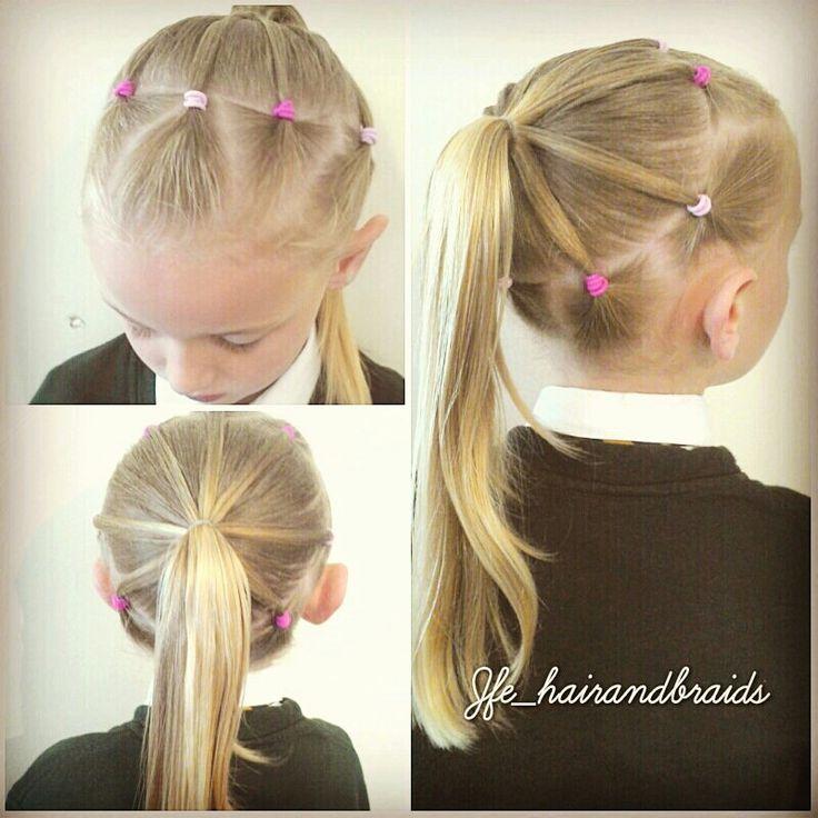 Tremendous 1000 Ideas About Easy Girl Hairstyles On Pinterest Hairstyles Short Hairstyles For Black Women Fulllsitofus