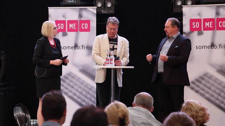 Johtaja sosiaalisessa mediassa - Minna Valtari, Pekka Sauri ja Ilkka Ala...