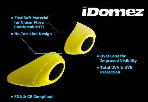 Idomez Flexible Tanning Goggles Assorted Colors by Idomez. $5.99