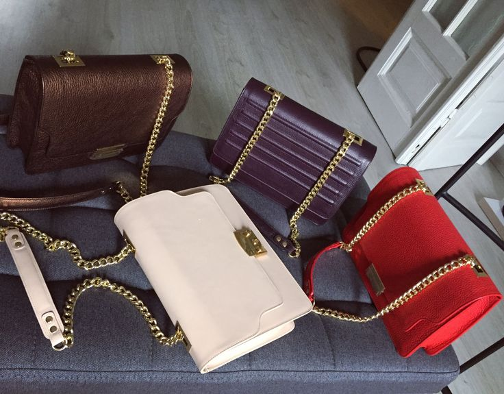 Favorite bags  #leather #bags #fashion #style #the5thelementbags #red #plum #fallwinter2017
