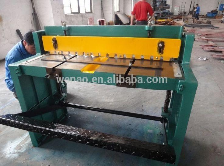 manual sheet metal cutting machine
