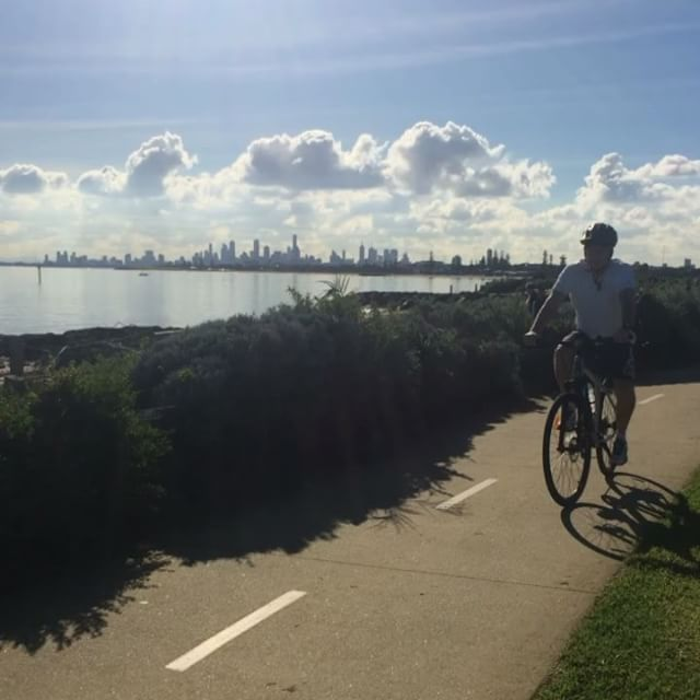 Bayside living at its finest! Some of the team headed out to St Kilda to soak up this Winter sunshine! Bayside   Melbourne   Aitken Real Estate