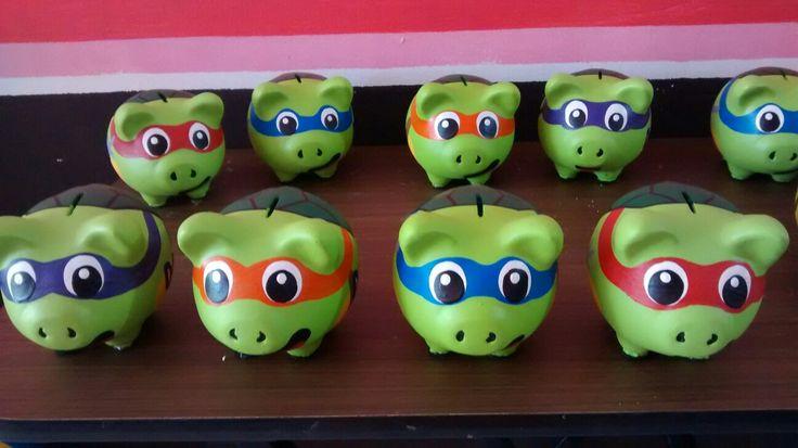 Alcancía pigy bank cerditos chonchitos decoradas